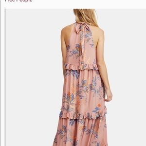Free People Desert Rose Combo maxi dress